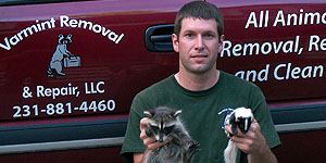 Josh Raese Varmint Removal Animal Repair Skunks Critters